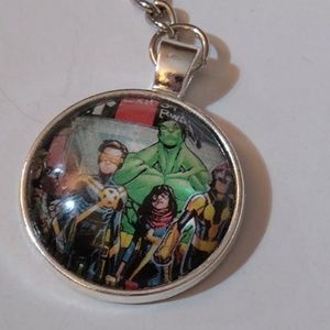 Keychain Young Avengers Comic Handmade Unique